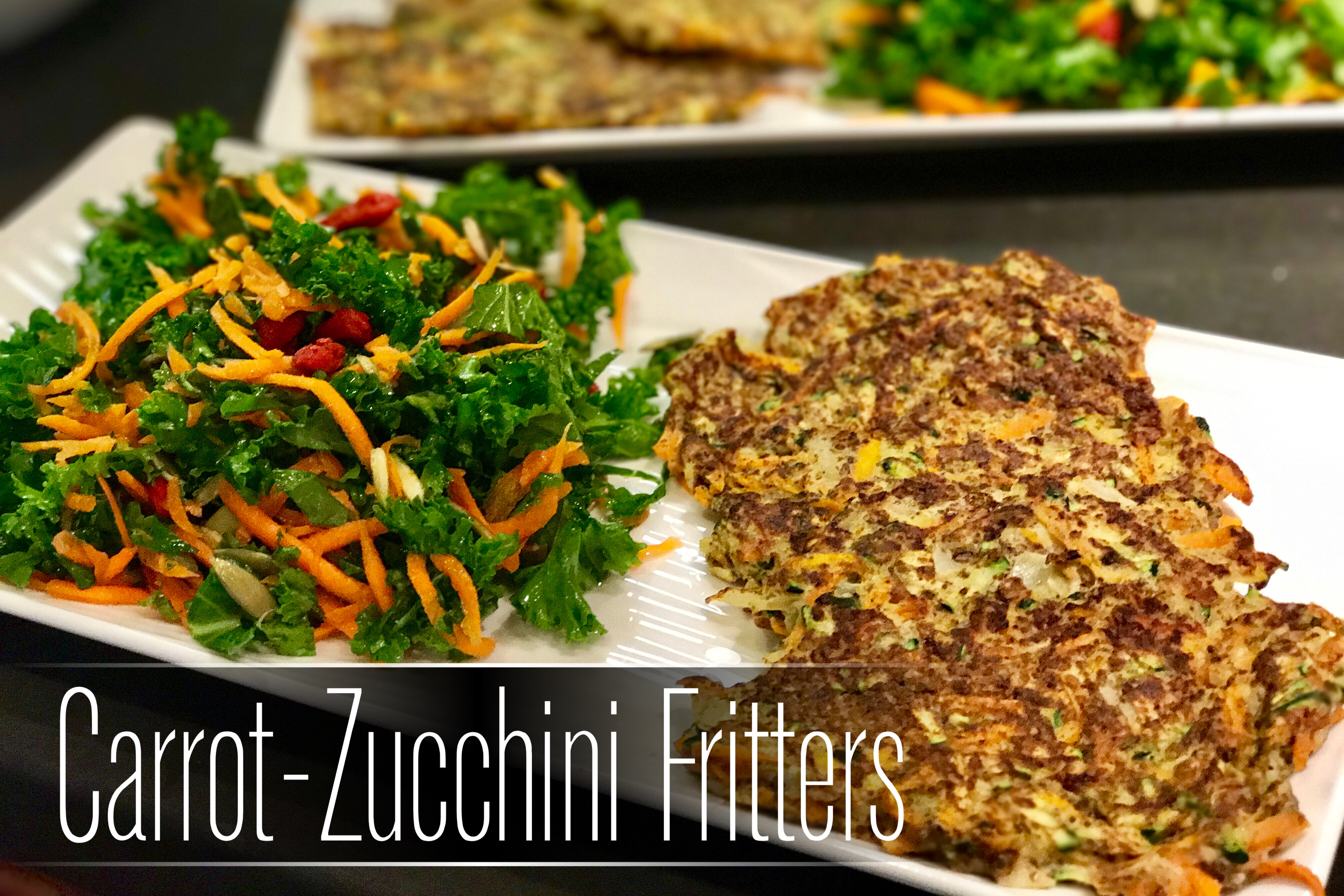 Carrot-Zucchini Gluten-Free Vegetable Fritters