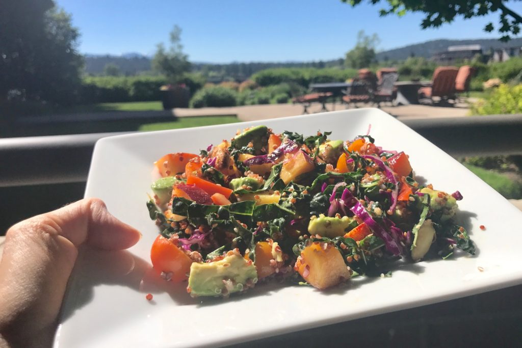 Summer Salad: A Palette of Colorful, Fresh Ingredients